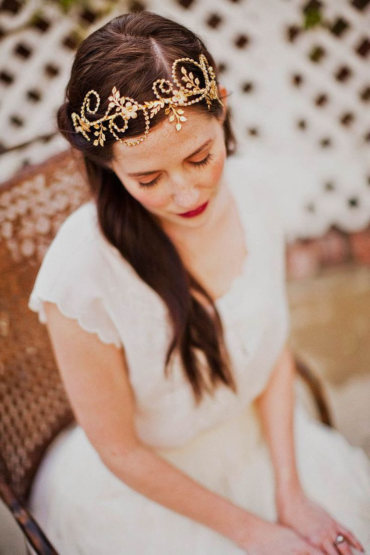 Feather coal hair accessories emily kent wedding hair bridal musings - Pretty Head Piece Medium Wedding Hairstylesheadband
