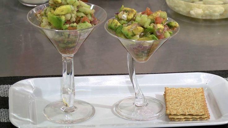 Receta Saludable: Ceviche de Coliflor- Hogar Tv  por Juan Gonzalo Angel