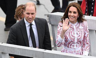 William and Kate Middleton to go on Brexit charm offensive   Daily Mail Online