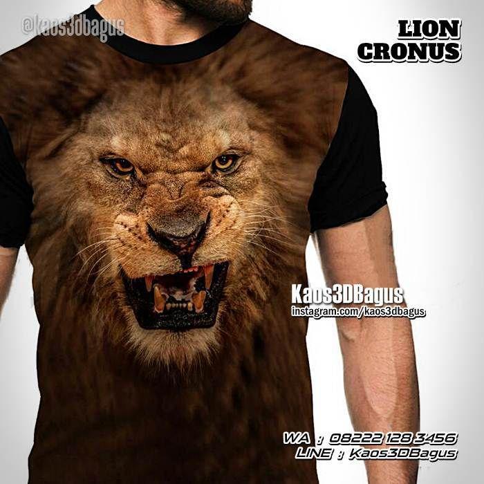 Kaos SINGA, Kaos Kepala Singa, Kaos Harimau, Kaos Macan, Kaos3D, Lion Cronus, https://kaos3dbagus.wordpress.com, WA : 08222 128 3456, LINE : Kaos3DBagus