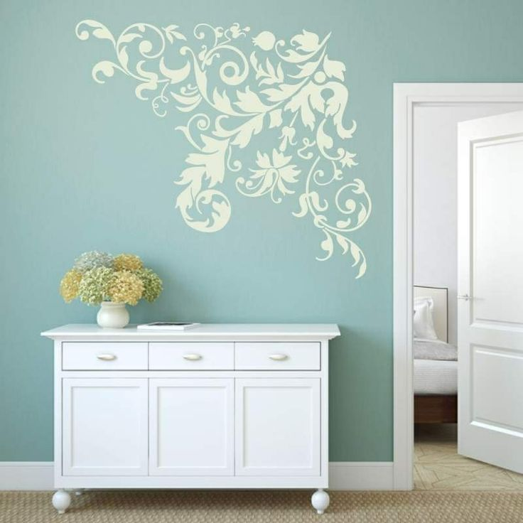 Szablon malarski - Floral | Paint template - Floral | 31,19 PLN #paint #template #flower #plant #floral #home_decor #interior_decor #design #wall_decor #floral #szablon #szablon_malarski #kwiat #roślina #dekoracja_domu #dekoracja_ściany #dekoracja_wnętrza