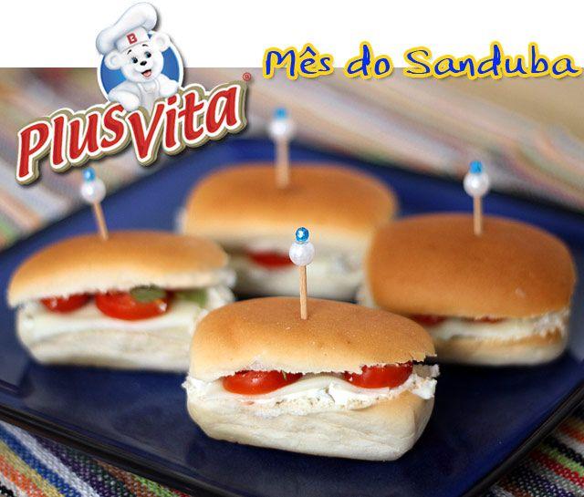PANELATERAPIA - Blog de Culinária, Gastronomia e Receitas: Sanduíche Aperitivo