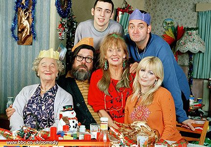It's never truely christmas without watching The Royle Family! Christmas television is an important part of the day, usually watched after a great Christmas dinner.