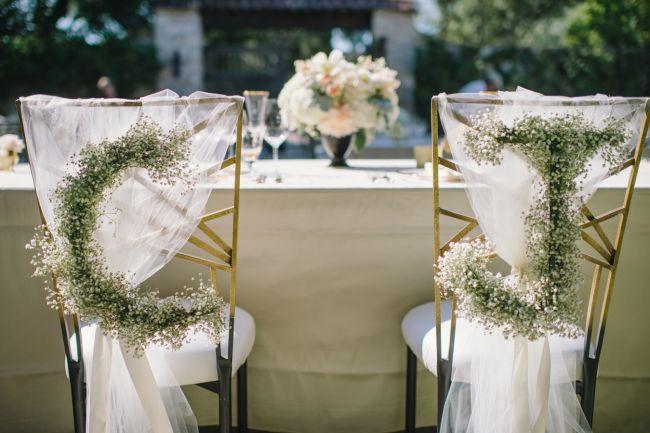 27 ideias LINDAS para decorar as cadeiras do casamento em 2016 Image: 0