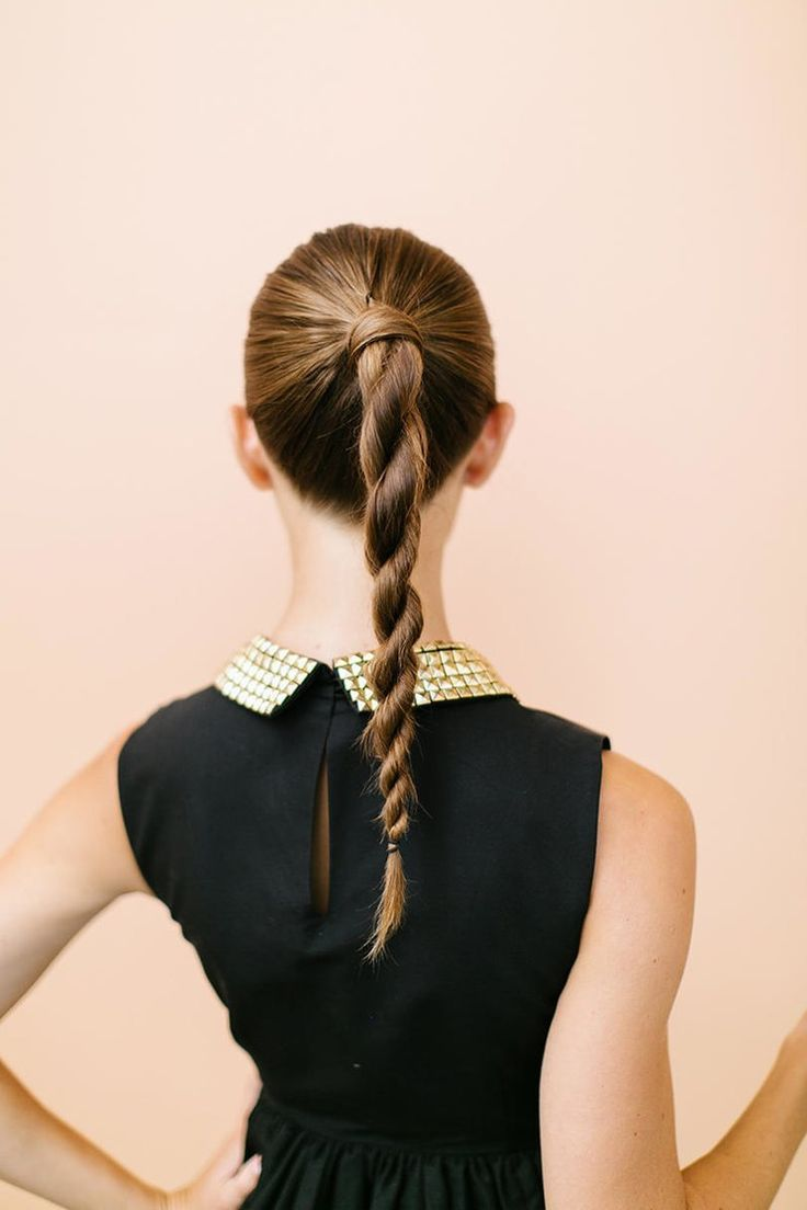 Twisted Ponytail Up-do