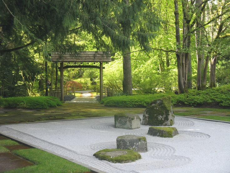 Zen garden zen pinterest jard n arquitectura for Jardines japoneses zen