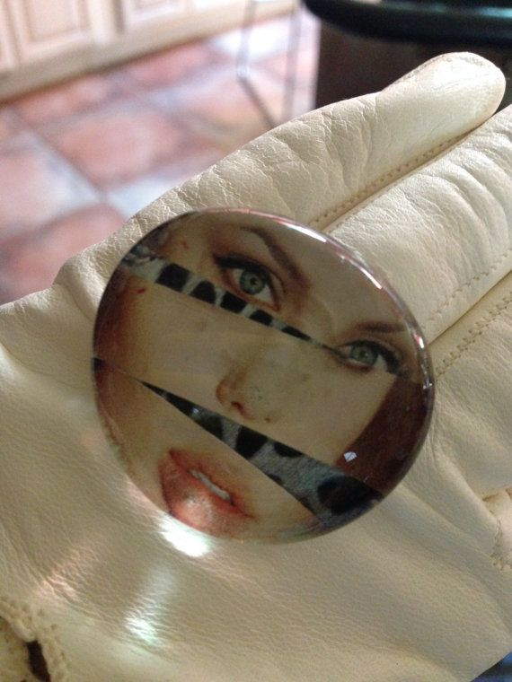 Angelina Jolie's exquisite face segmented by Fingercandyrings