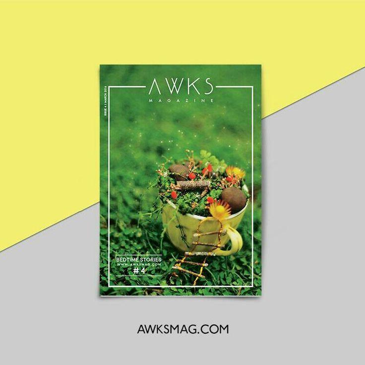 AwksMag - Bedtime Stories #4 #magazine #design #art #fairytale #stories #indie