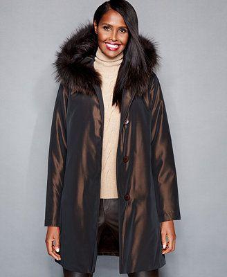 17 best ideas about Fur Lined Coat on Pinterest | Rick owens women ...