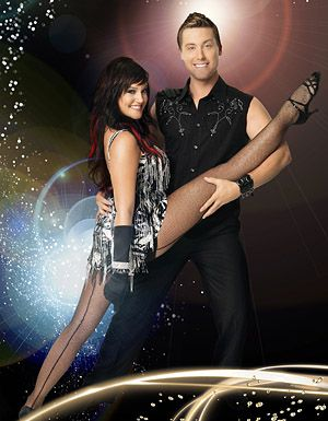 Lacey Swimmer & Lance Bass  Lacey is my favorite, loved her since So You Think You Can Dance...