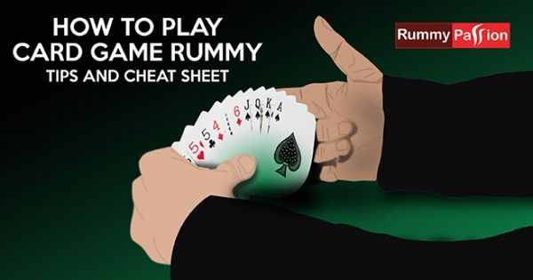 Play Rummy online at vibrant game tables using these tips and cheat sheet & win BIG! #Rummy #PlayLoveWin
