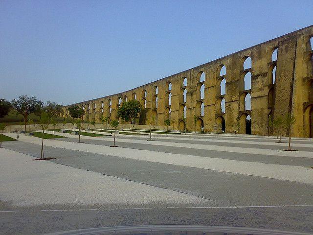 Portugal_Elvas-roman aqueduct   Bridges and Viaducts   Pinterest