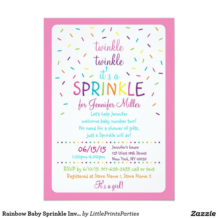 Best 25+ Sprinkle invitations ideas on Pinterest | Baby sprinkle ...