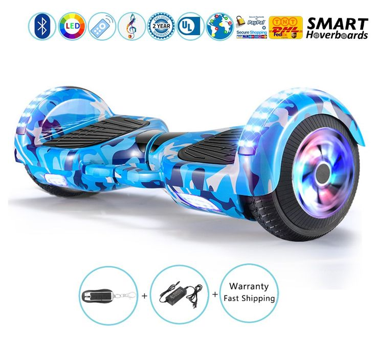 Chrome gold hoverboard for kids in xmas with bluetooth