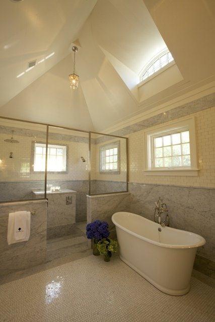 Inn at Windmill Lane #marble #bath