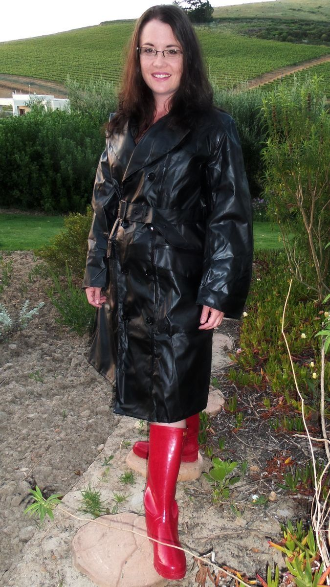 All wrapped up in layers of rainwear - Rainwear Central
