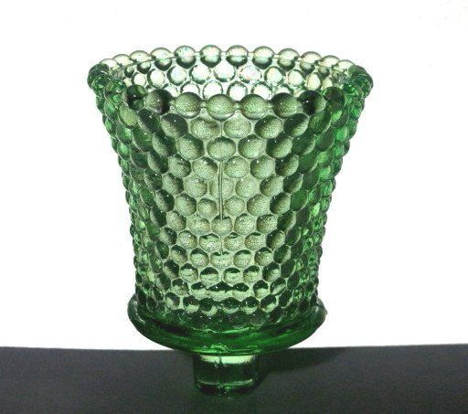 Amazing Home Interiors Peg Votive Candle Holder Hobnail Lime Green RARE