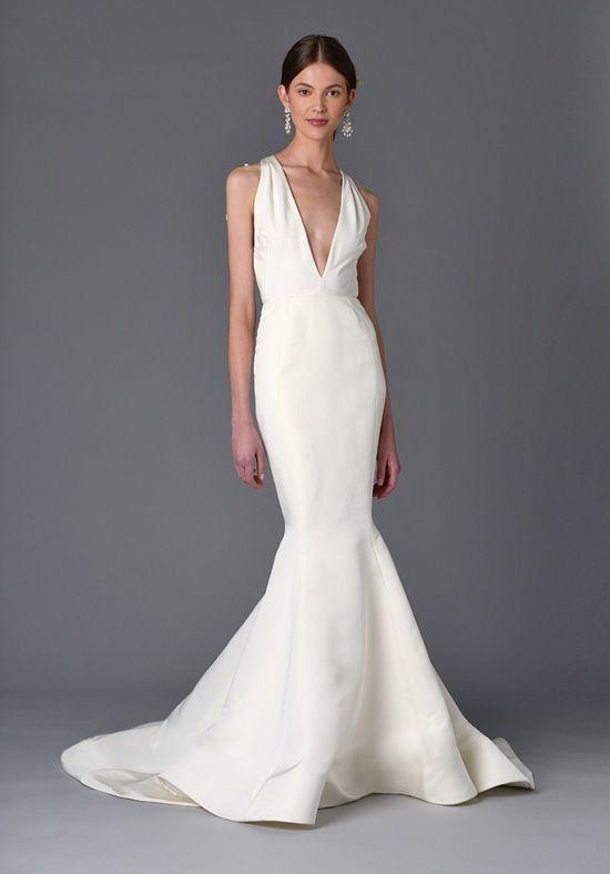 Marchesa Wisteria Mermaid Wedding Dress