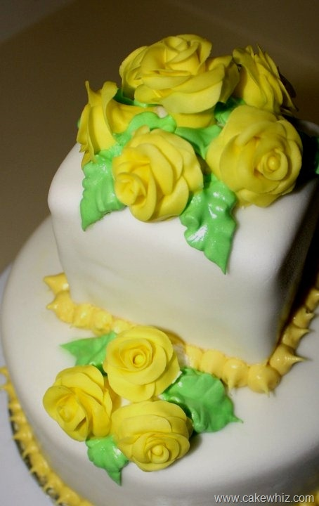 86 Best Images About Yellow Quot Rose Quot Cakes Cookies Etc On