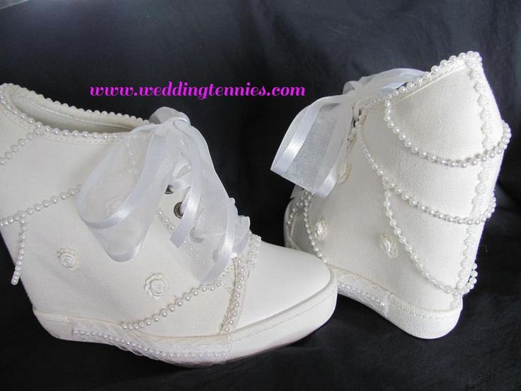 17 Best ideas about Wedding Tennis Shoes on Pinterest | Shoes for ...