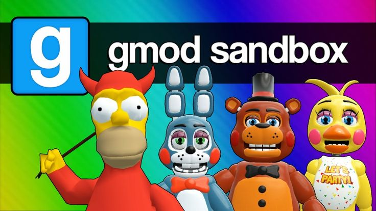 Five Nights at Freddy's 2, 3, and 4 with Homer Simpson (Gmod Sandbox Fun...