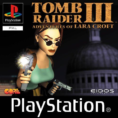 Tomb Raider 3. I don't think I actually finished this one...