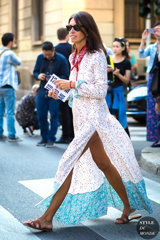 A Casual Chic Way To Style A Printed Maxi Dress | Le Fashion | Bloglovin'