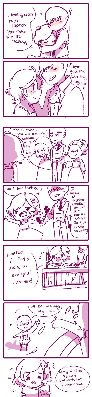 Anti-Social Media :: 18: Love Triangle   Tapastic Comics