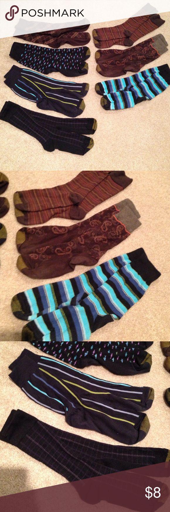 Men's Gold Toe Sock Bundle Bundle of 7 pairs of men's Gold Toe dress socks. Gently used. Gold Toe Underwear & Socks Dress Socks