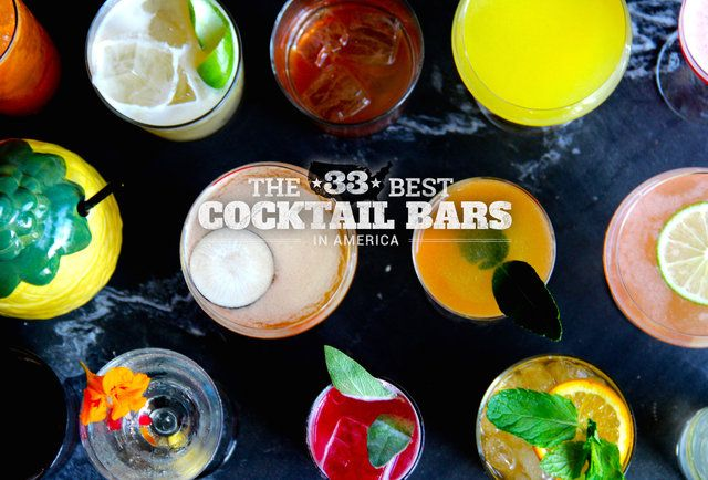 The 33 best cocktail bars in the country. Sugar House-Detroit made the list!