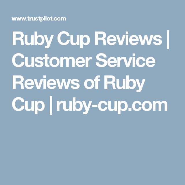 Ruby Cup Reviews | Customer Service Reviews of Ruby Cup | ruby-cup.com