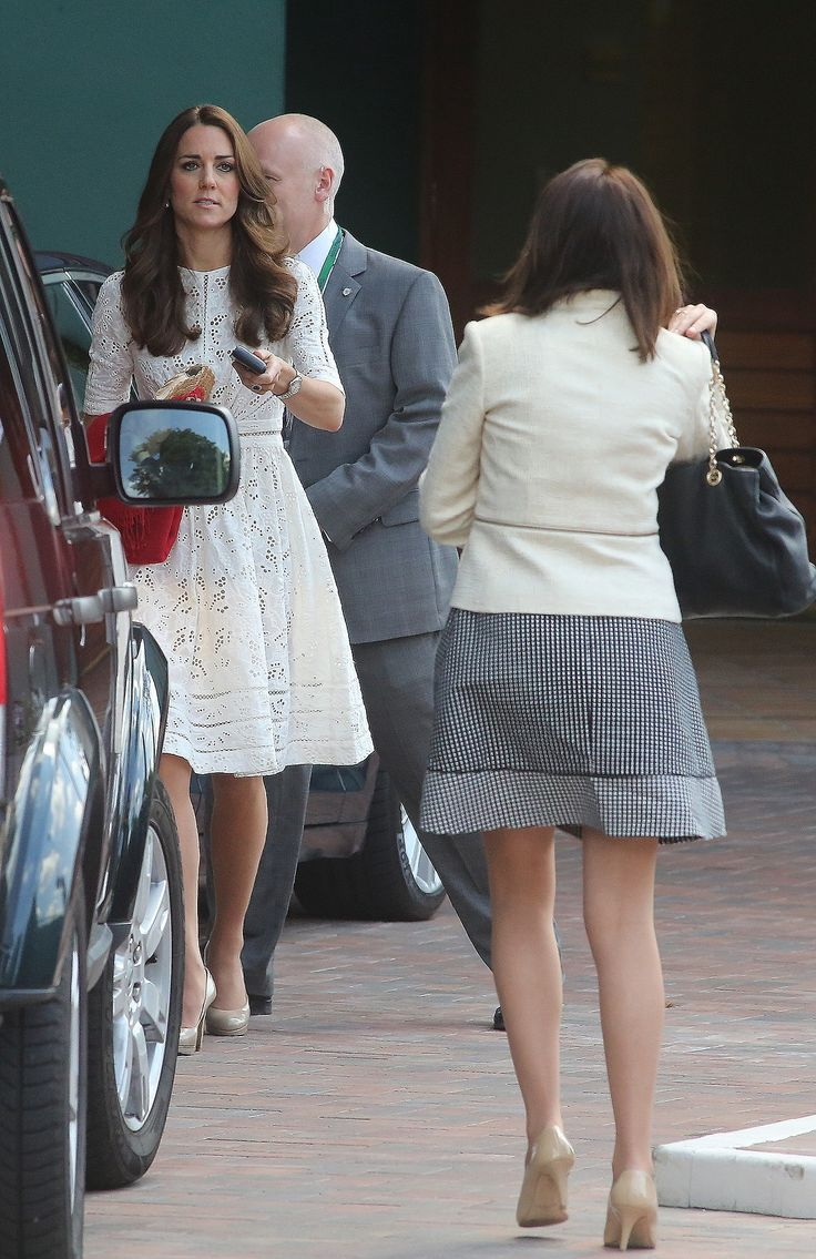 July 2, 2014 - Arriving at the 2014 Wimbledon Tennis Championships