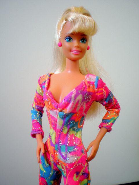 Hot Skatin' Barbie | BARBIE - 80's - 90's - Barbie, Old ...