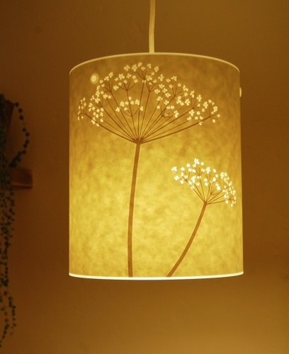 Small Cow Parsley ceiling shade