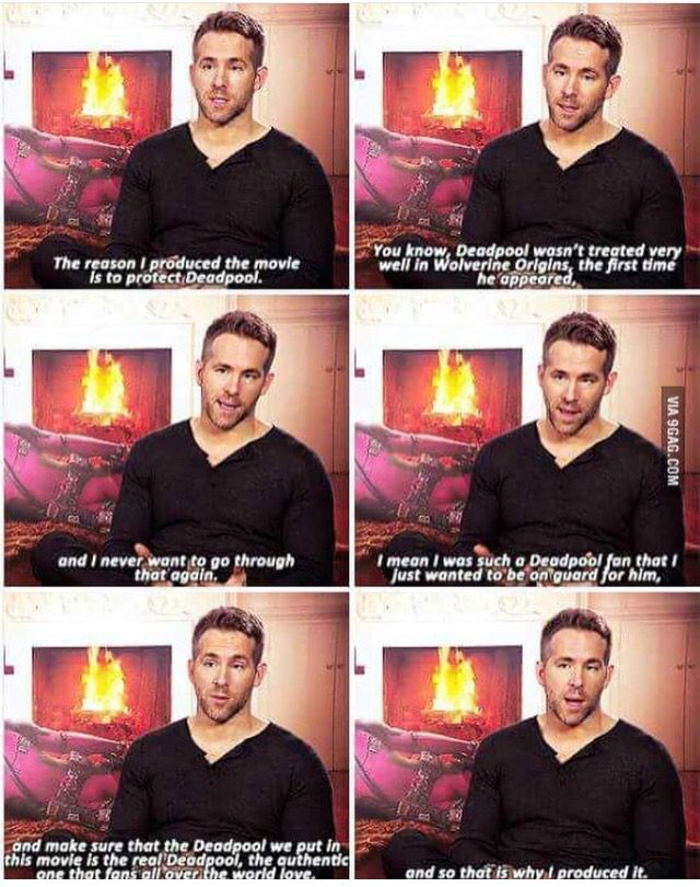 Ryan Reynolds is the perfect Deadpool