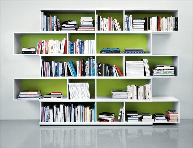 Prachtige strakke boekenkast.