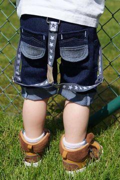 Worker-Pants für Jungs und Mädchen mit viel Stauraum - Schnittmuster und Nähanleitung via Makerist.de