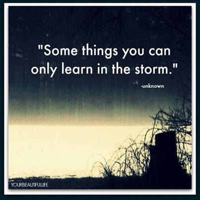 Whether we like it or not, we grow from every experience, and the stormy ones make for the best rainbows. #love #acceptance #personalgrowth