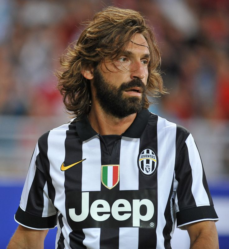 Andrea Pirlo of Juventus... just look at that beard....