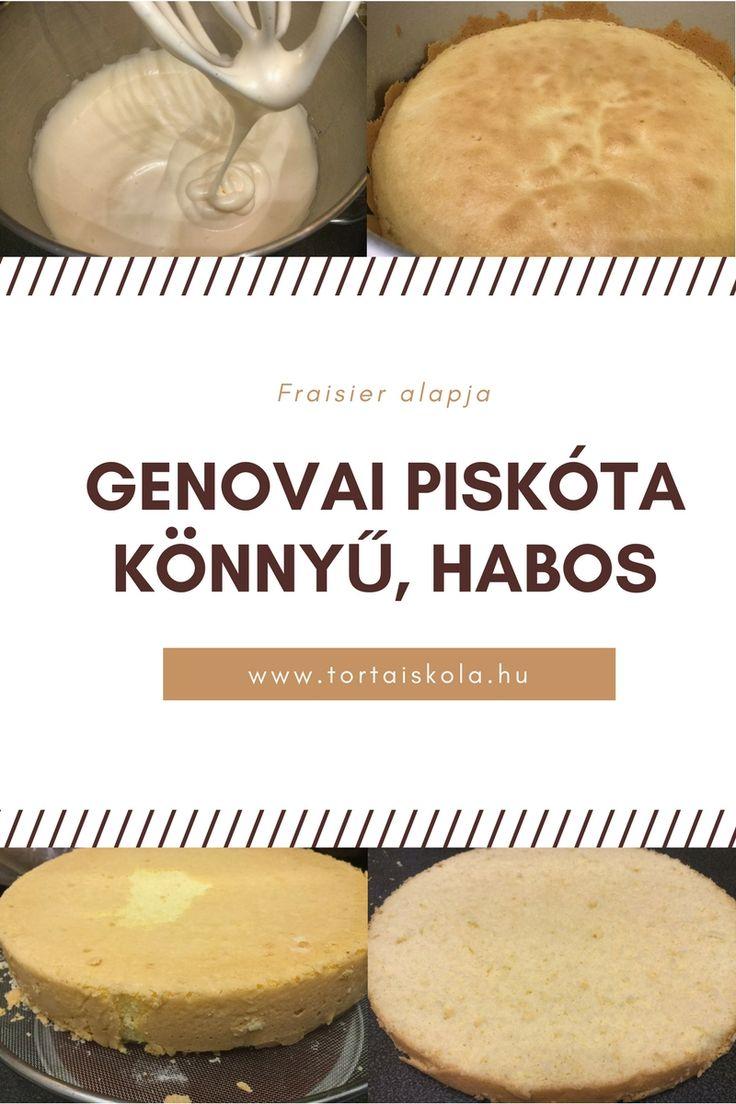 Genovai piskóta, könnyed, habos,finom:-)