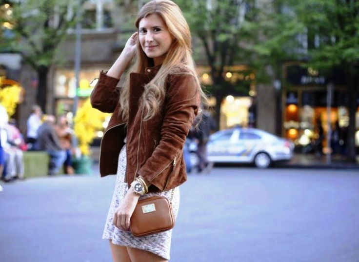 Look con chaqueta de ante. Trendy look. #perfecto #outfit #fashionblogger #atrendylife  www.atrendylifestyle.com