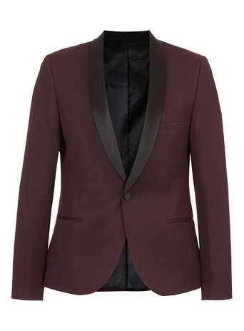 Check out our Gift Guide where you can find everything you need for your boyfriend, brother or dad this Xmas: http://tpmn.co/19HdLVy Burgundy Jacquard Tux Jacket: http://tpmn.co/Ik3ats