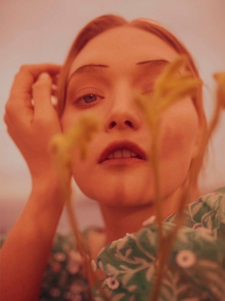 "edithshead: ""from Live Young Gemma Ward by Georges Antoni for Wonderland Magazine, fall 2016 """