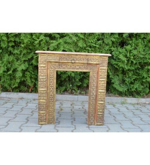 #Drewniany indyjski #stolik Model: HS-16-064 @ 734 zł. Zamówienie online @ http://goo.gl/0UcSQh