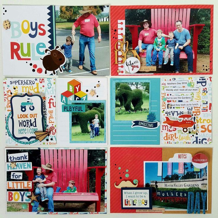 Mothers Day Boy Project Life Layout  http://amysmalldesigns.blogspot.com.au/2016/06/mothers-day-project-life-layout.html?m=1 Love your boy collections @echoparkpaper
