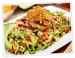 Whiskey River BBQ Chicken Salad Red Robin Restaurant Copycat Recipes