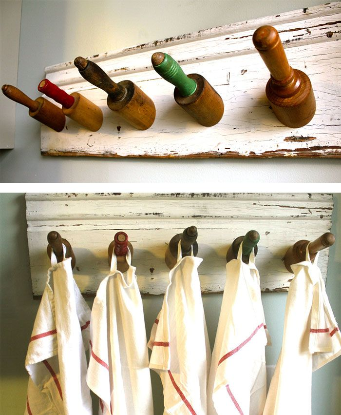 Decoration with rolling pin