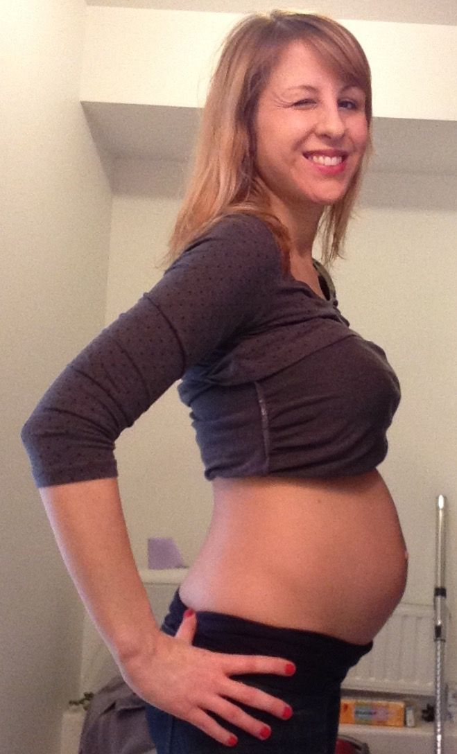 22 semaines de grossesse, 5 mois pleins