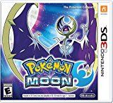 Pokémon Moon - Nintendo 3DSby Nintendo100% Sales Rank in Video Games: 2 (was 4 yesterday)Platform: Nintendo 3DS(250)Buy new: $39.99 $33.9956 used & new from $33.99 (Visit the Movers & Shakers in Video Games list for authoritative information on this product's current rank.)