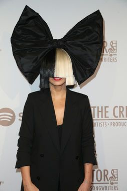 And the award for most instantly recognizable Halloween costume goes to: Sia! Because while the big bow is a fun added touch, all you really need for people to know who you are is that two-toned wig.